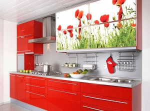 Кухня пластиковые фасады
